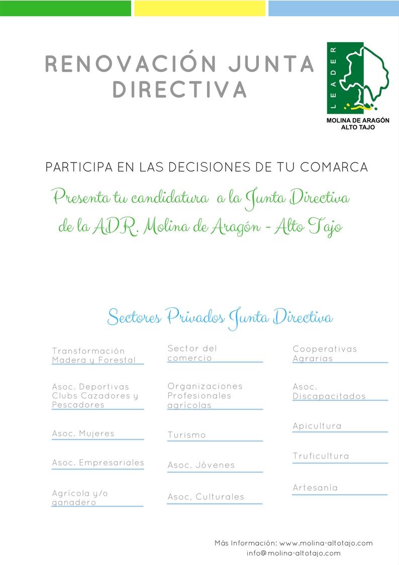 Advertido Error involuntario en el Anuncio para la Renovación de la Junta Directiva