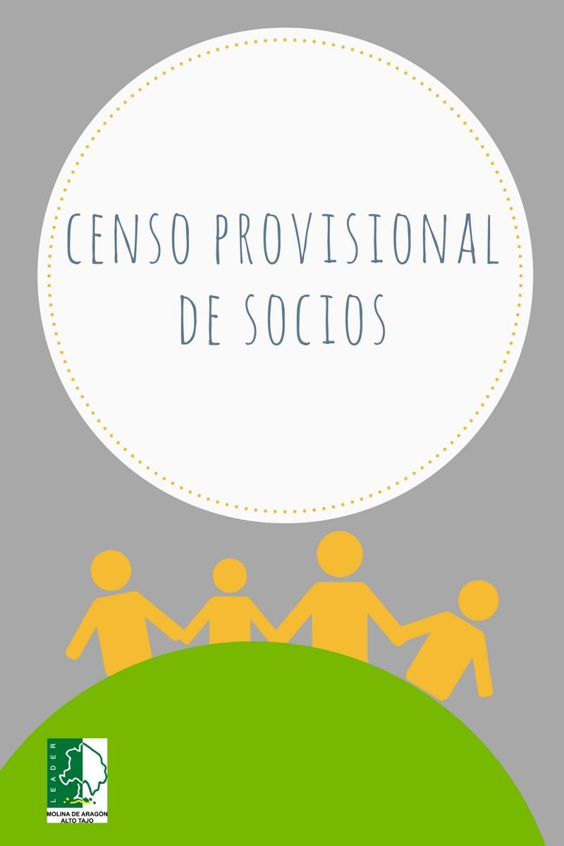 Censo Provisional de Socios