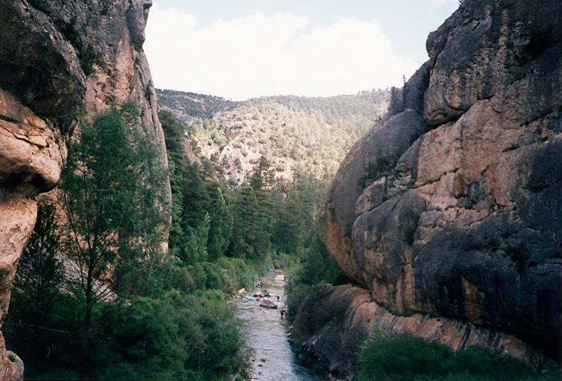 Vista desde el Puente de Peñalén