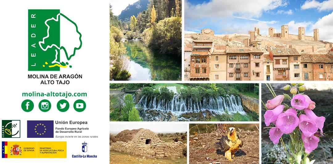Conectados y unidos por el desarrollo rural de la comarca de Molina de Aragón – Alto Tajo
